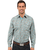 Stetson - Modern Paisley Long Sleeve Snap Front Shirt