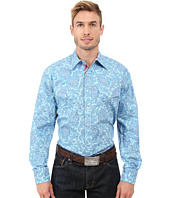 Stetson - Water Paisley Two Pocket Snap Shirt