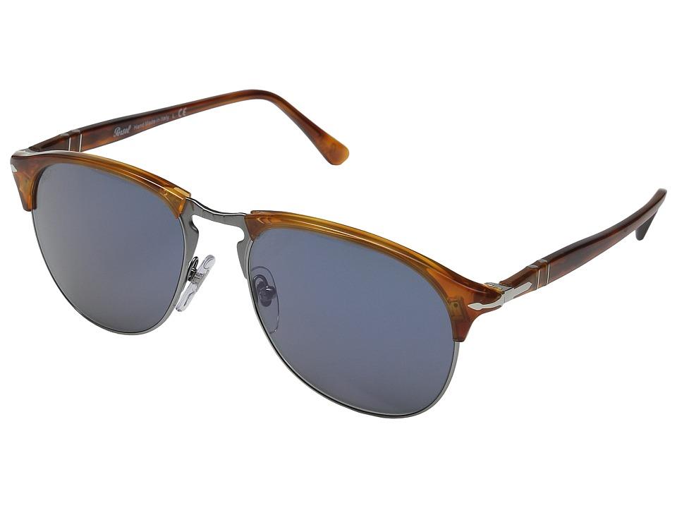 Persol - 0PO8649S (Terra Di Siena/Blue) Fashion Sunglasses