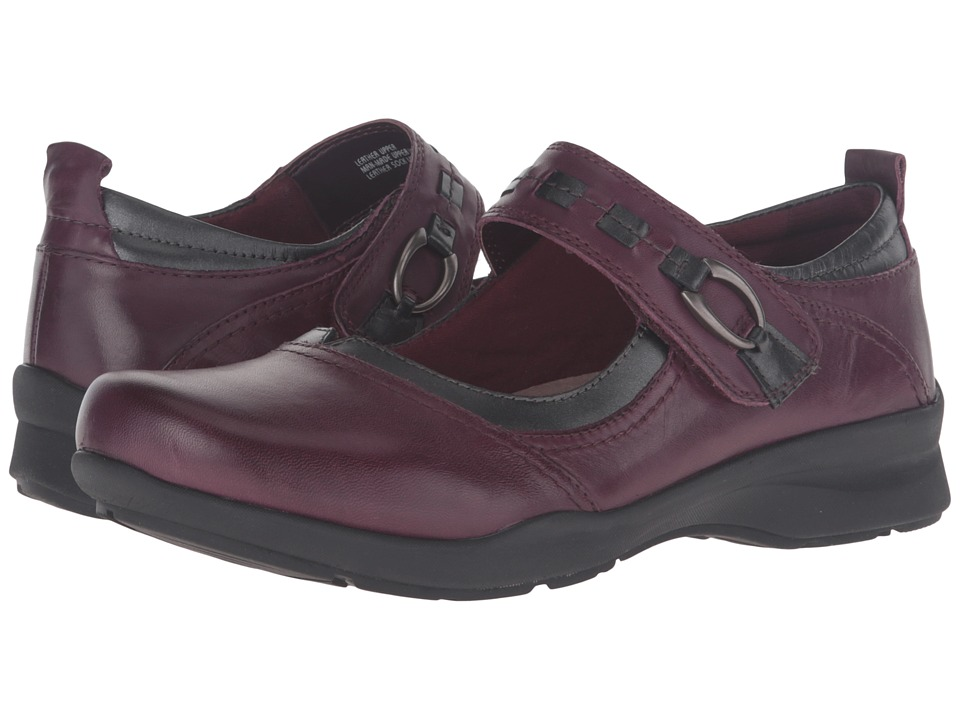 Earth Angelica (Prune Full Grain Leather) Women