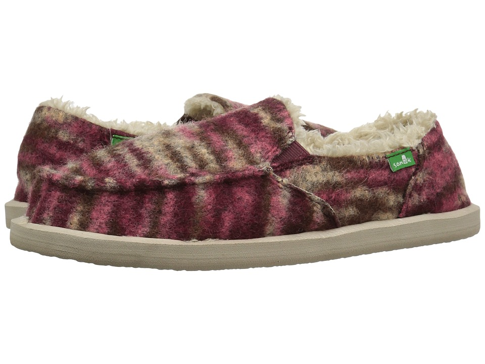 Sanuk - Calichill (Burgundy) Women
