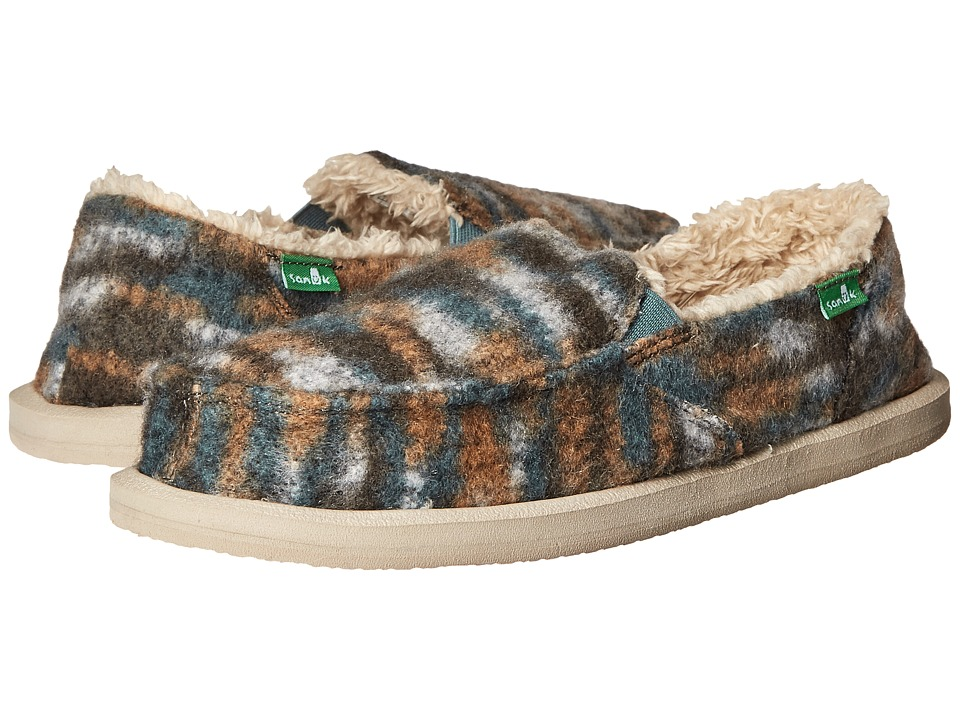Sanuk - Calichill (Dusty Teal) Women