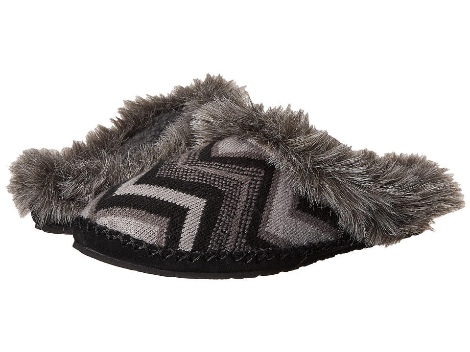 Sanuk - Willow Pillow (Black Multi Chevron) Women
