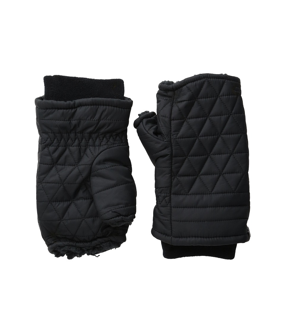 Mountain Hardwear Grub Wrist Warmer (Black/Black) Extreme Cold Weather Gloves