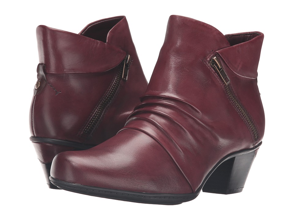 Earth Pegasus (Merlot Full Grain Leather) Women