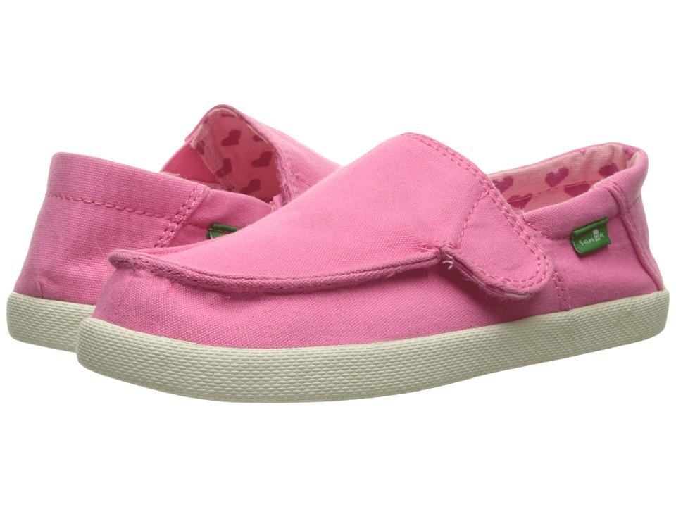 Sanuk Kids Sideskip (Toddler/Little Kid) (Pink) Girls Shoes