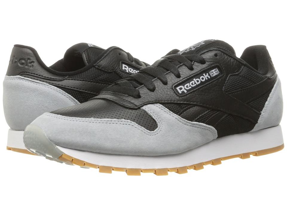 Reebok Lifestyle Classic Leather SPP (Black/Cloud Grey/Gum) Men
