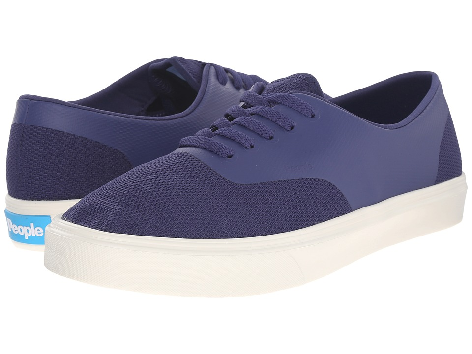 People Footwear Stanley 3D Mesh w/ EVA Mariner Blue/Picket White Lace up casual Shoes