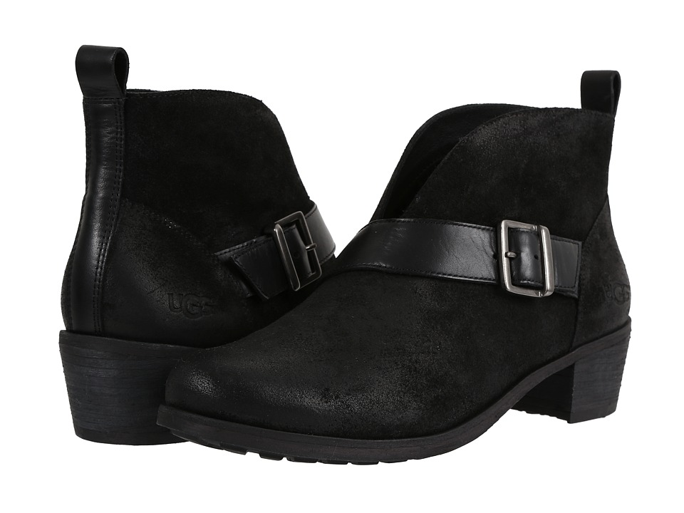 UGG Wright Belted (Black) Women