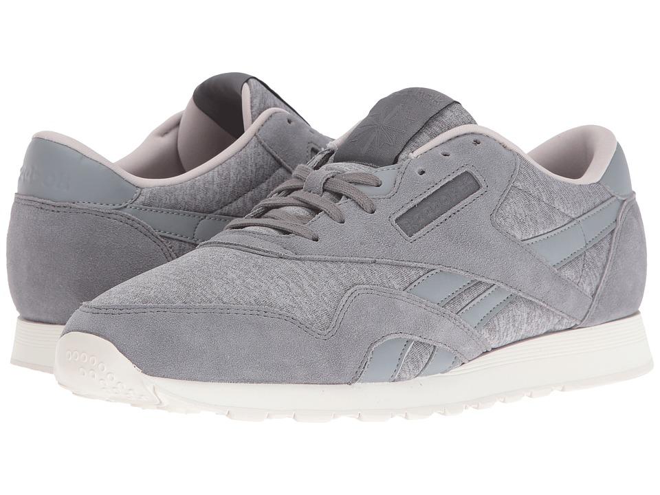 Reebok Lifestyle Classic Nylon J (Flat Grey/Medium Grey/Sand Stone/Chalk) Men
