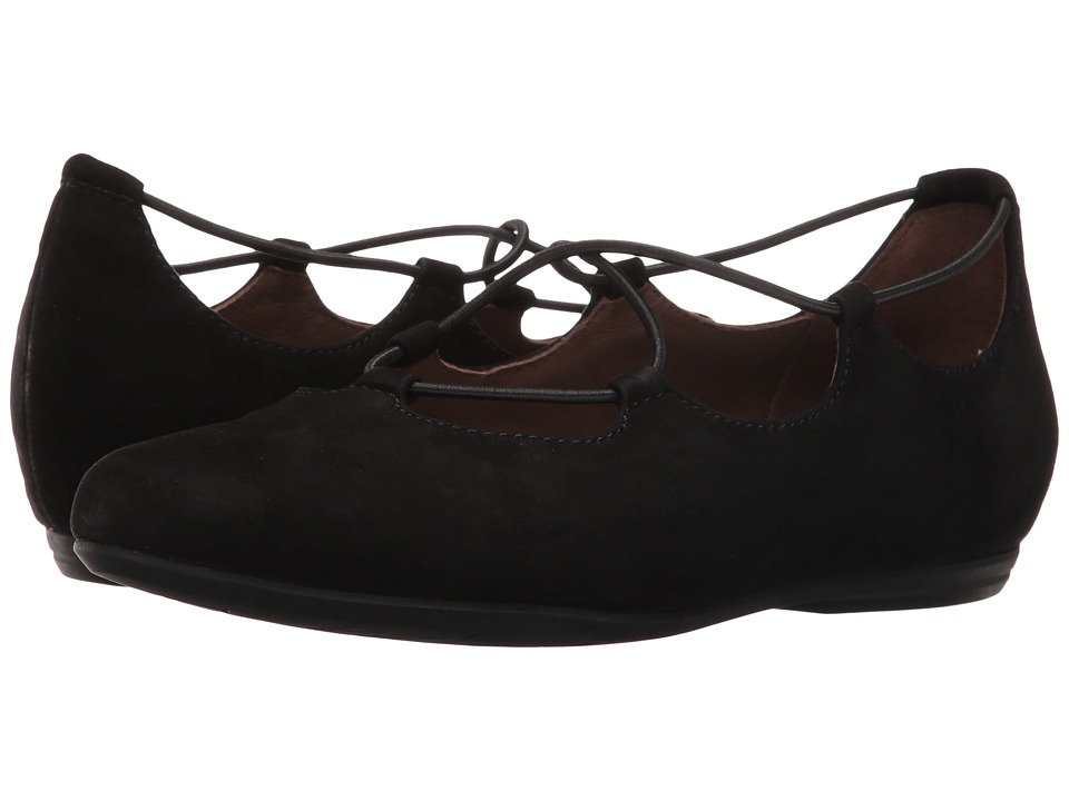 Earth Essen Earthies (Black Suede) Women