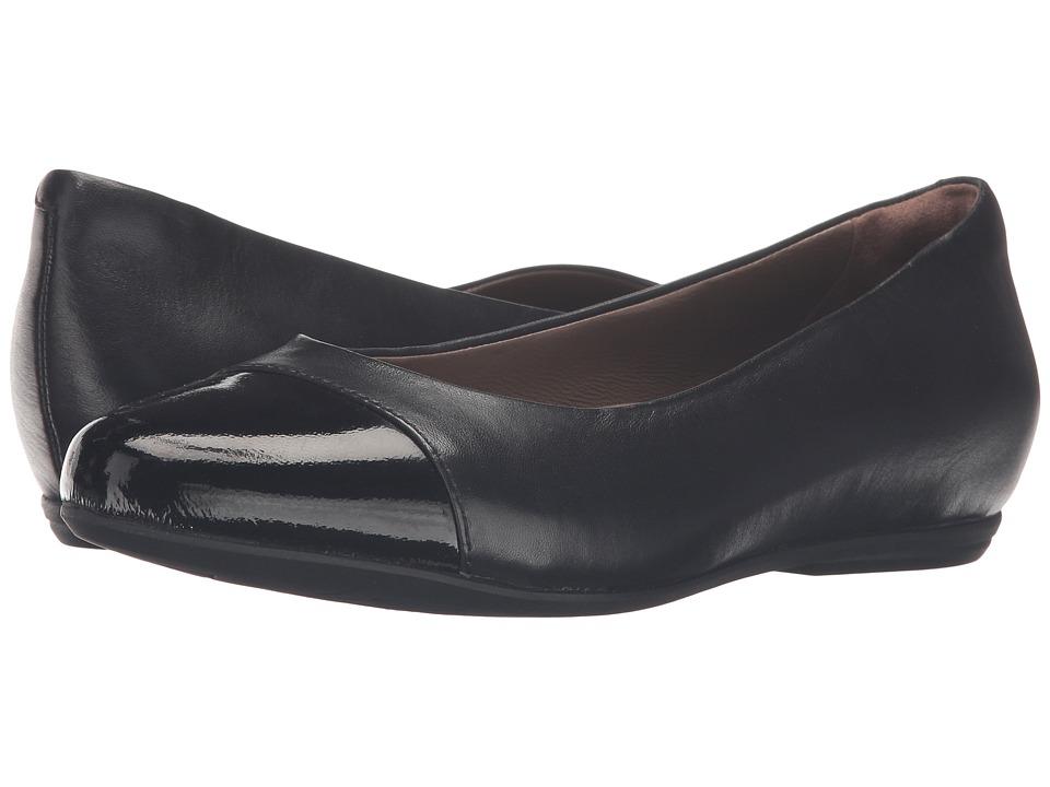 Earth Hanover Earthies (Black Full Grain Leather) Women