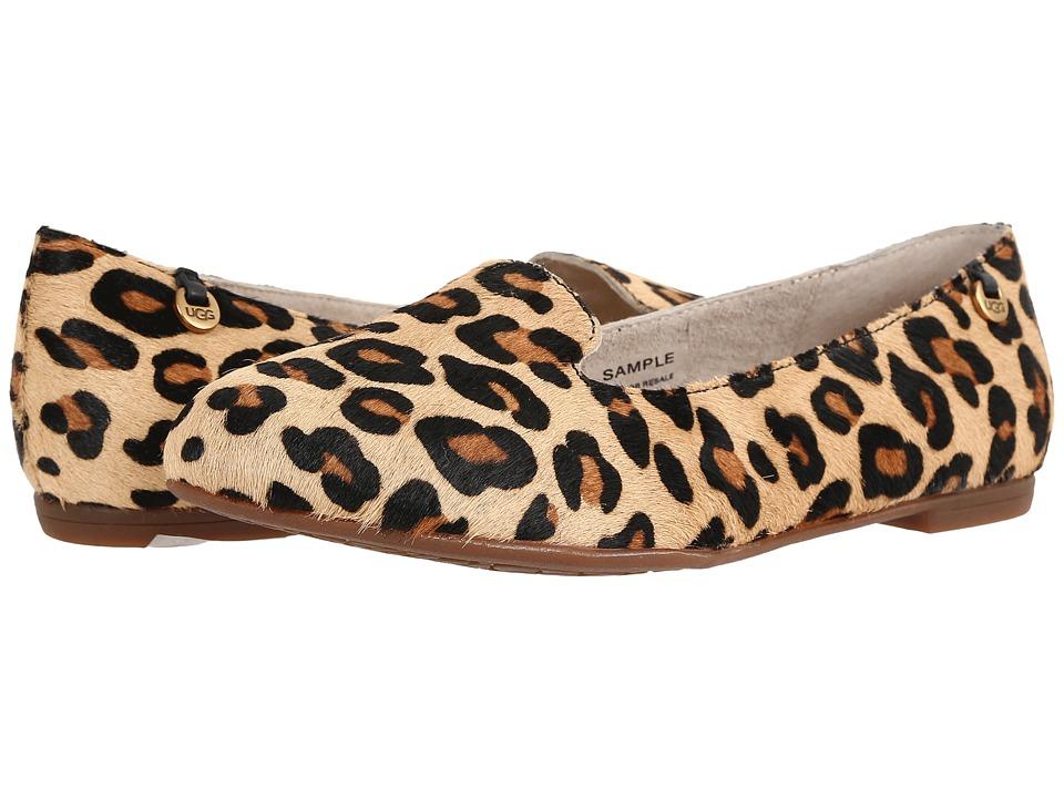 UGG - Blyss Calf Hair Leopard (Chestnut Leopard) Women