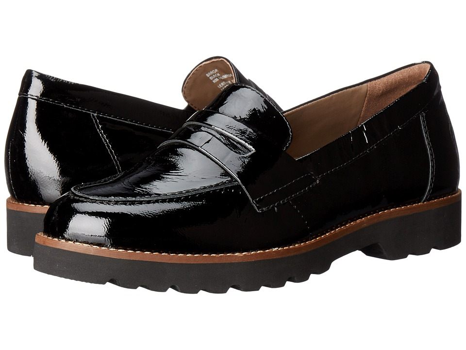 Earth Braga Earthies (Black Crinkled Patent) Women