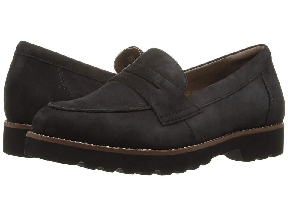 Earth Braga Earthies (Black Soft Buck) Women