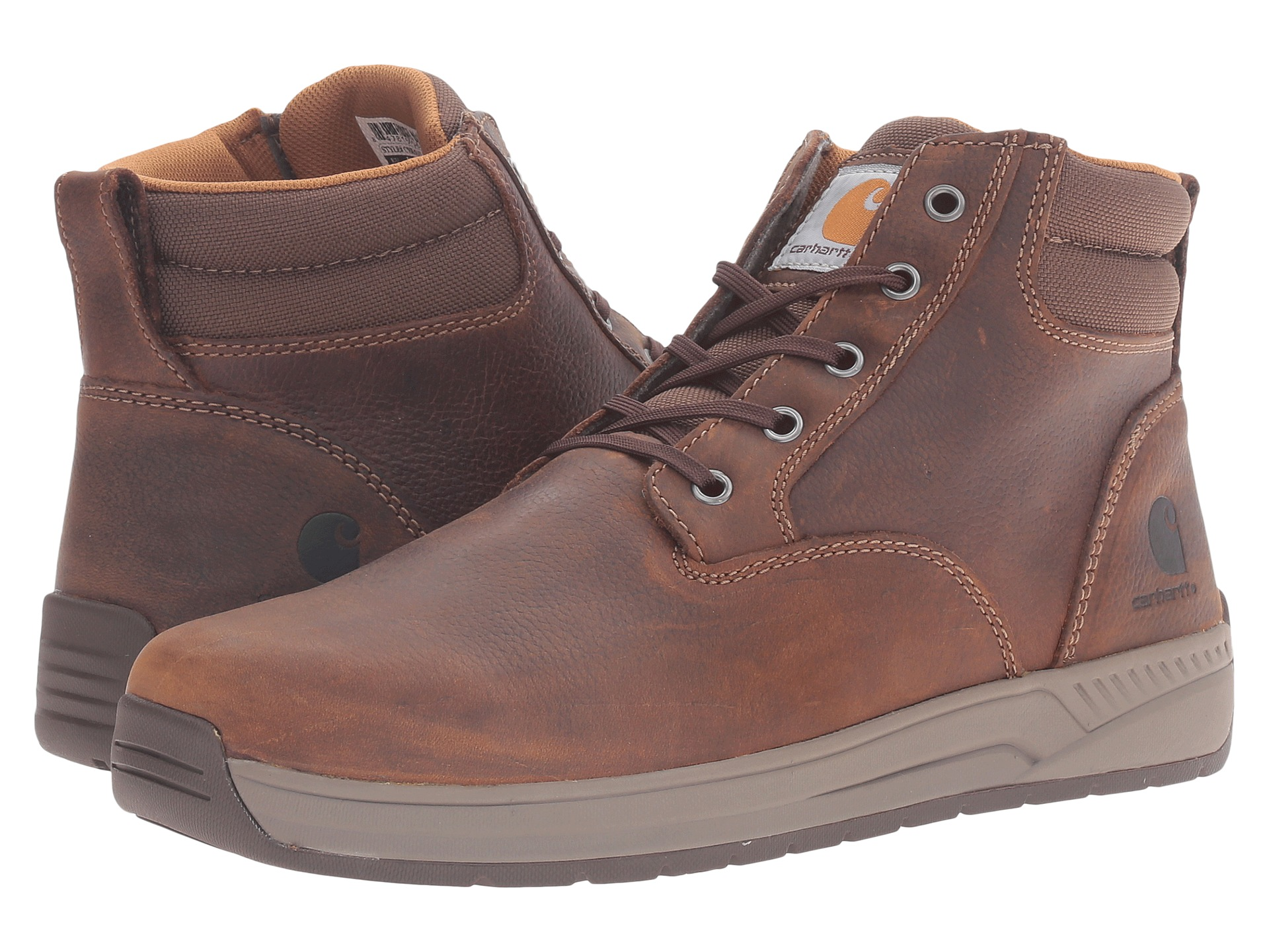 carhartt 4 quot lightweight wedge boot brown tanned