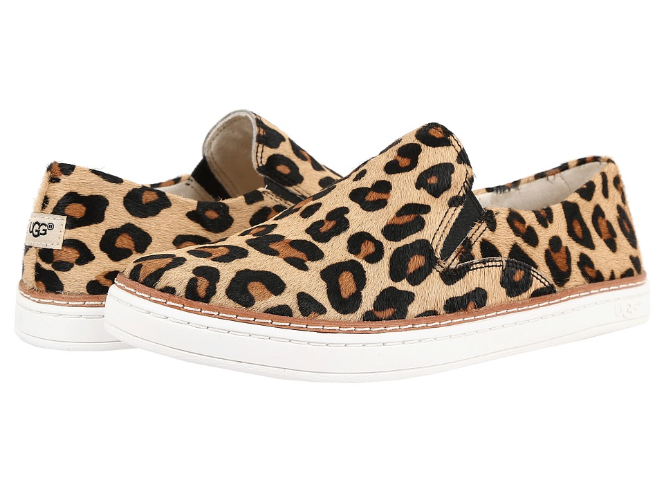 UGG - Keile Calf Hair Leopard (Chestnut Leopard) Women