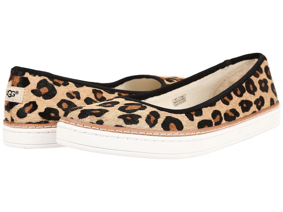 UGG - Kammi Calf Hair Leopard (Chestnut Leopard) Women