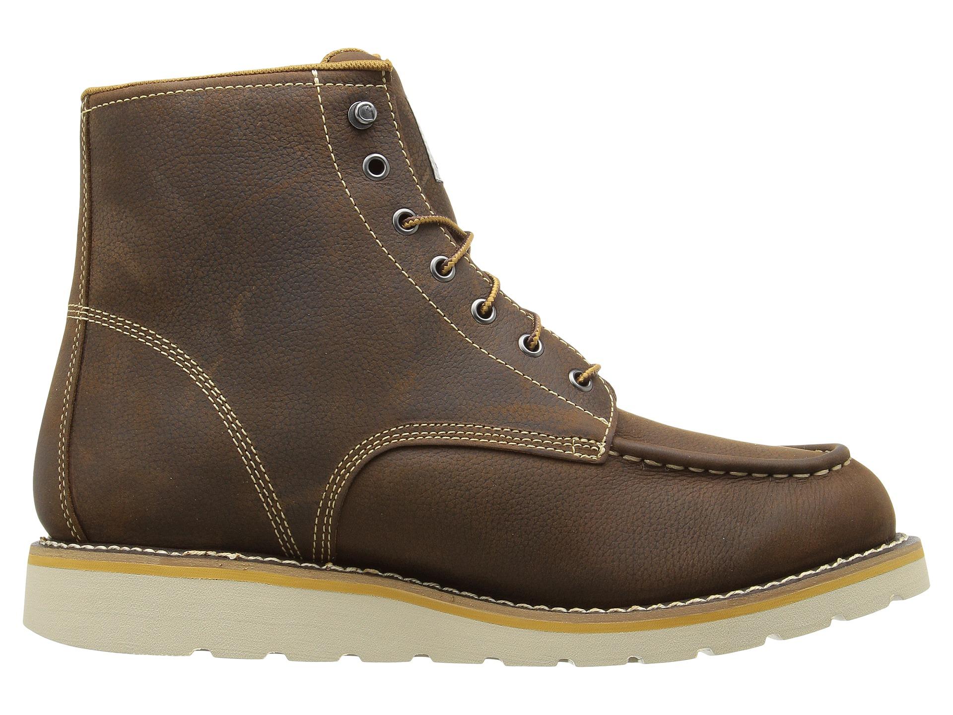carhartt 6 quot waterproof wedge boot at zappos