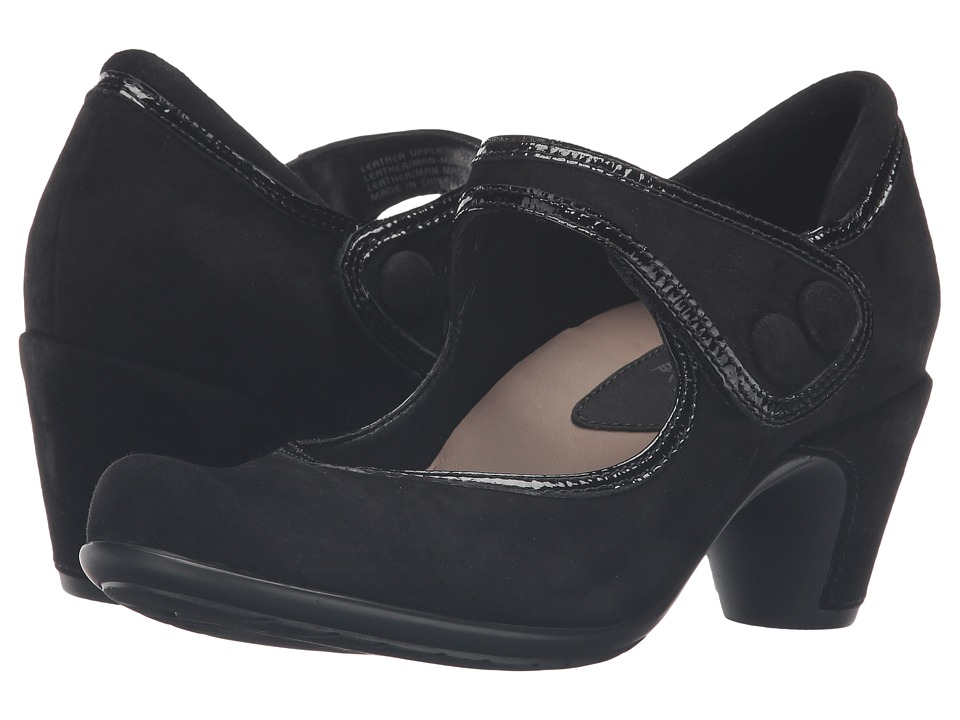 Earth Lucca Earthies (Black Suede) Women