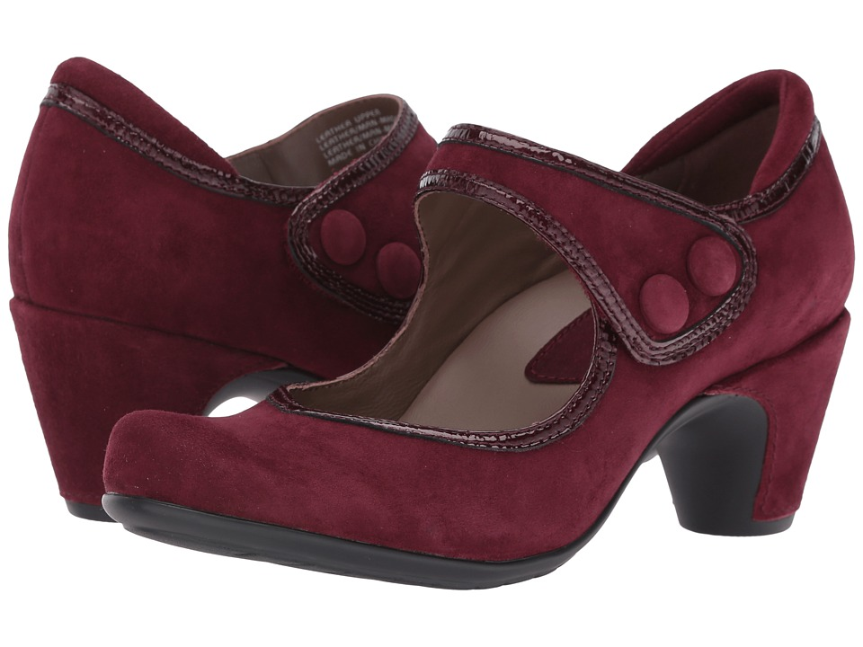 Earth Lucca Earthies (Burgundy Suede) Women