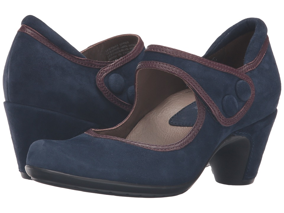 Earth Lucca Earthies (Navy Suede) Women