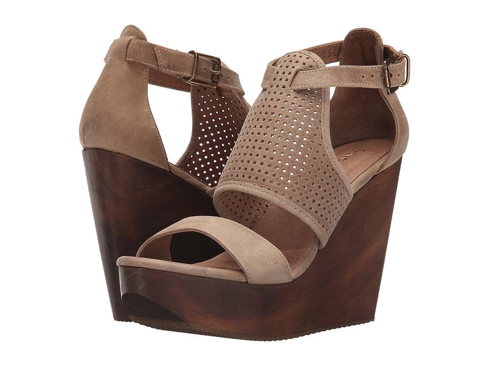 Cordani Dorado Bisque Nubuck Womens Wedge Shoes