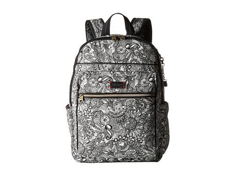 Sakroots Artist Circle Cargo Backpack - Black & White Spirit Desert