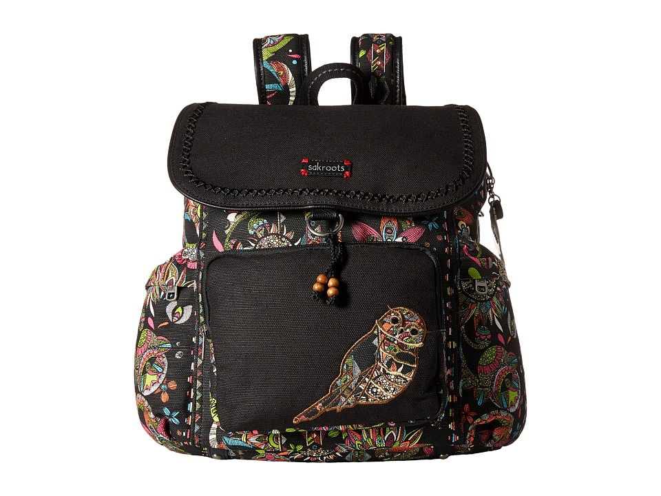 Sakroots - Artist Circle Signature Backpack (Neon Spirit Desert) Backpack Bags