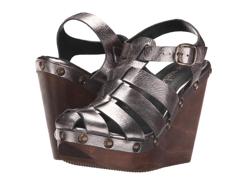 Cordani Duran Pewter Womens Wedge Shoes