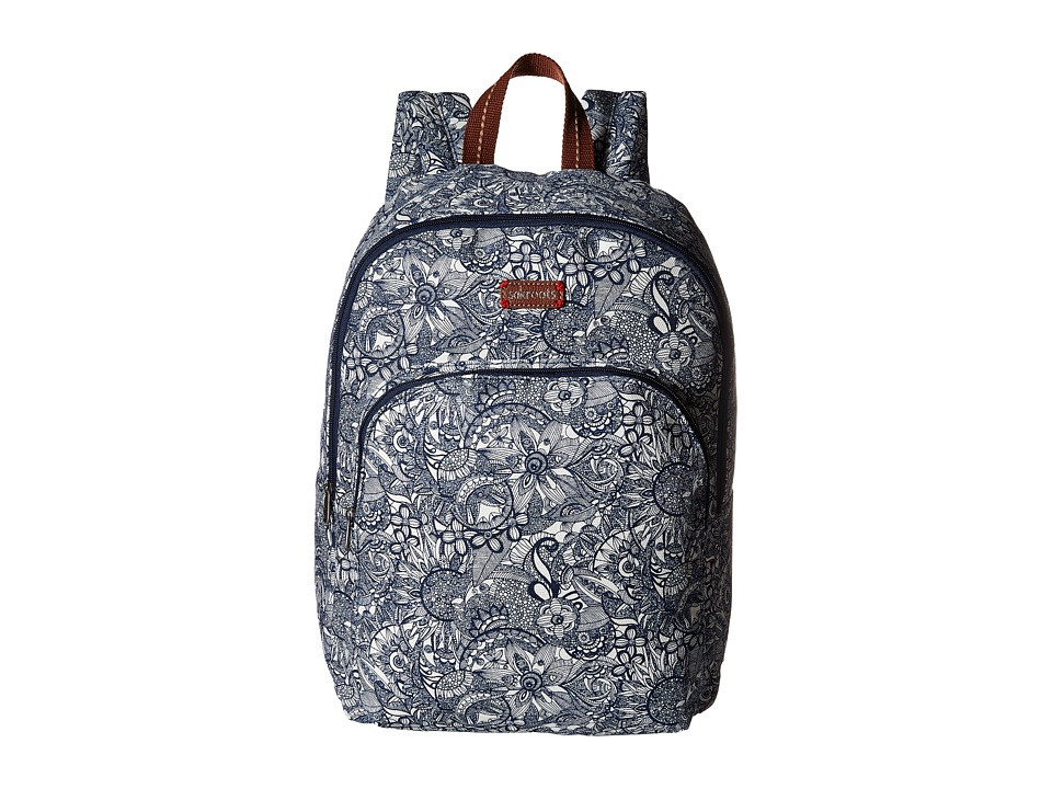 Sakroots - Artist Circle Medium Backpack (Navy Spirit Desert) Backpack Bags