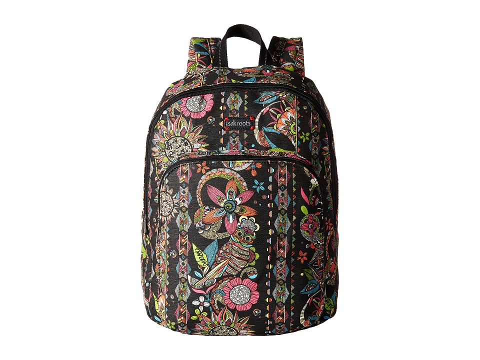 Sakroots - Artist Circle Medium Backpack (Neon Spirit Desert) Backpack Bags