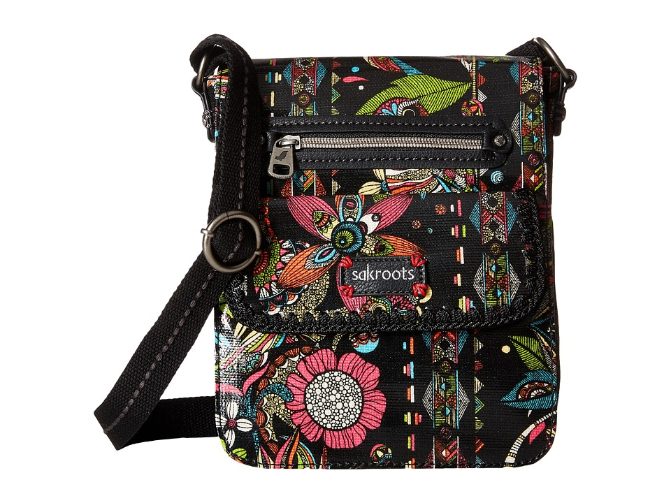 Sakroots - Artist Circle Small Flap (Neon Spirit Desert) Cross Body Handbags