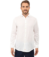 Thomas Dean & Co. - Long Sleeve Woven Linen Regular Fitted