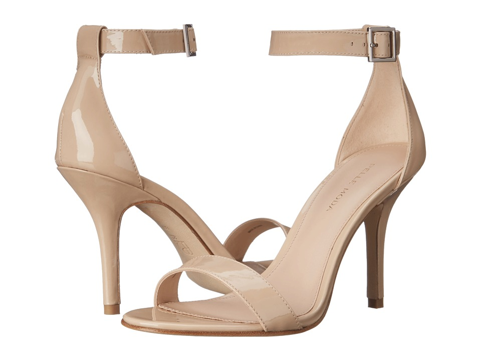 Pelle Moda Kacey (Nude Patent) High Heels