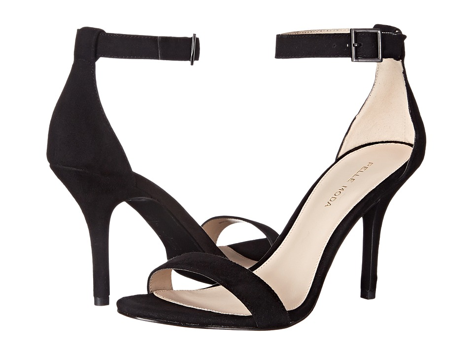 Pelle Moda Kacey (Black Kid Suede) High Heels