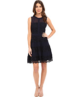 Adelyn Rae - Lace Fit and Flaire w/ Contrast Panel