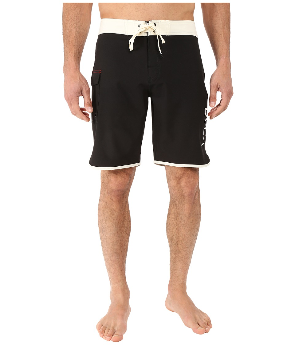 RVCA Eastern 20 Trunks Vanilla Mens Swimwear