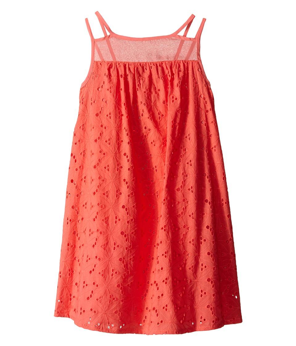 Lucky Brand Kids Cassie Dress Big Kids Sugar Coral Girls Dress