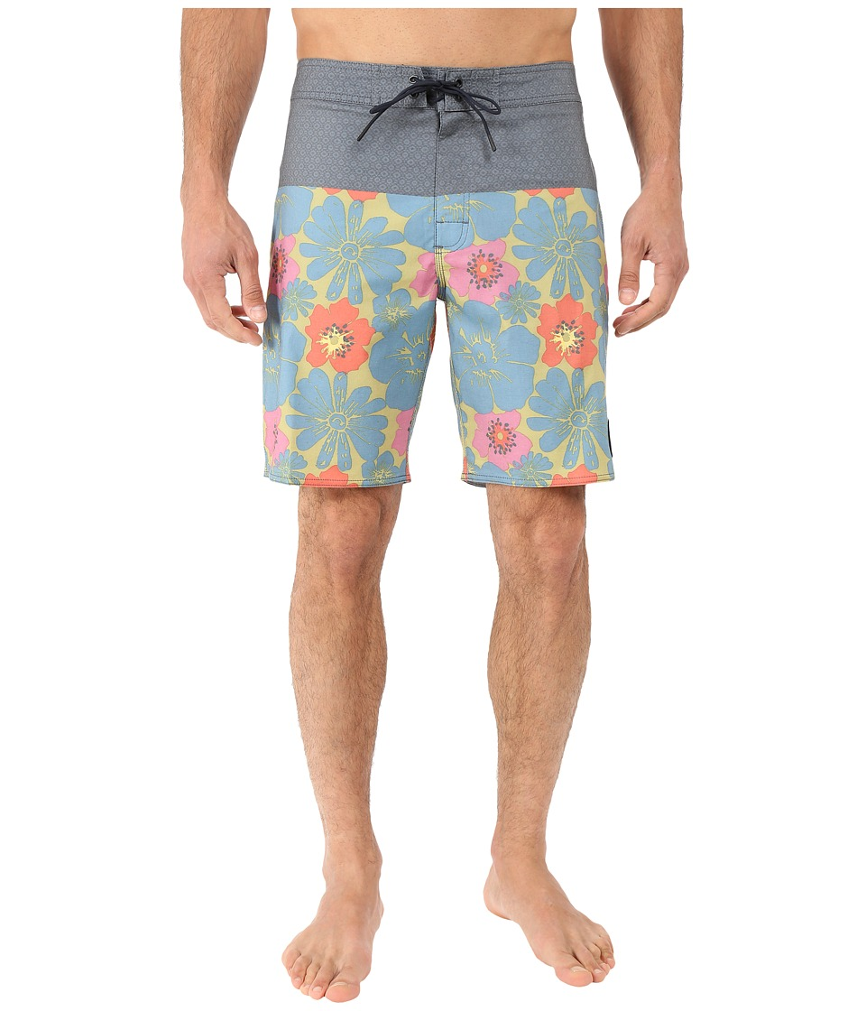 RVCA Ashbury Trunk Carbon Mens Swimwear