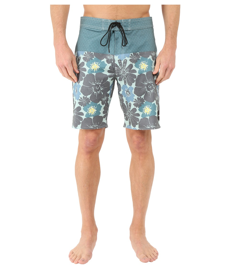 RVCA Ashbury Trunk Pacific Mens Swimwear