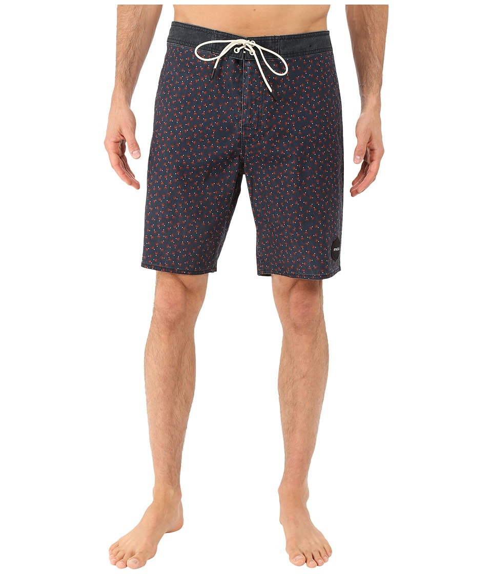 RVCA Particle Trunk Cinabar Mens Swimwear