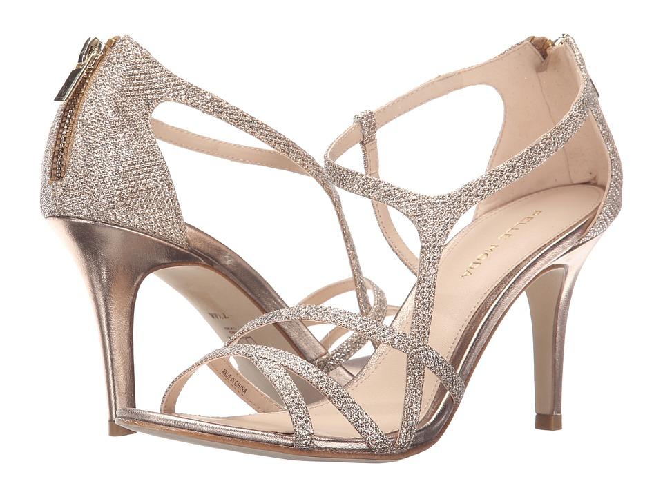Pelle Moda Ruby (Platinum Gold Metallic Textile) High Heels