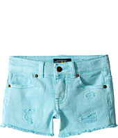 Lucky Brand Kids - Rip and Repair Reily Shorty Shorts (Little Kids)