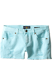 Lucky Brand Kids - Rip and Repair Reily Shorty Shorts (Big Kids)