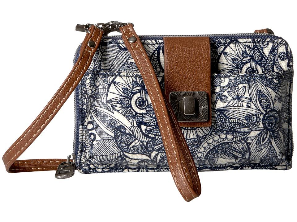 Sakroots - Artist Circle Smartphone Crossbody (Navy Spirit Desert) Cross Body Handbags