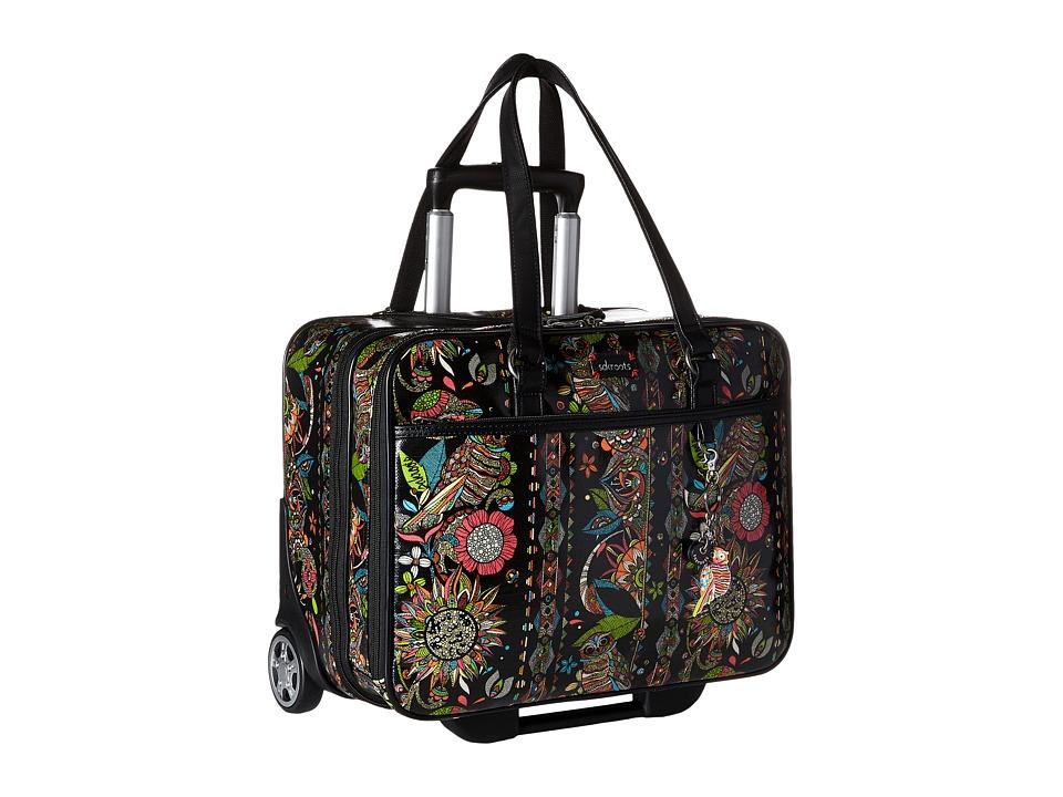 Sakroots - Artist Circle Mobile Tote (Neon Spirit Desert) Tote Handbags