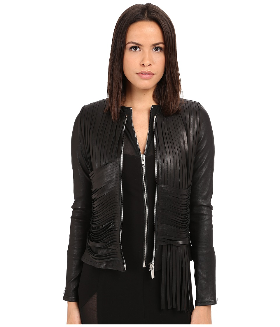 Nour Hammour Retrograde Black/Black Womens Coat
