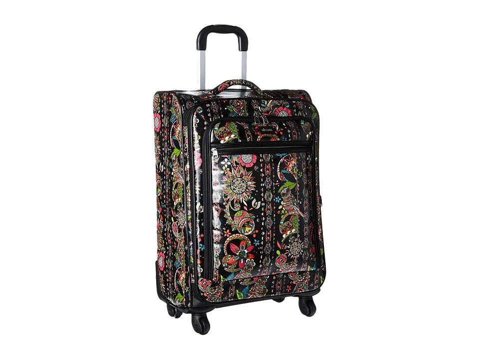 Sakroots - Artist Circle 26 Suitcase (Neon Spirit Desert) Carry on Luggage