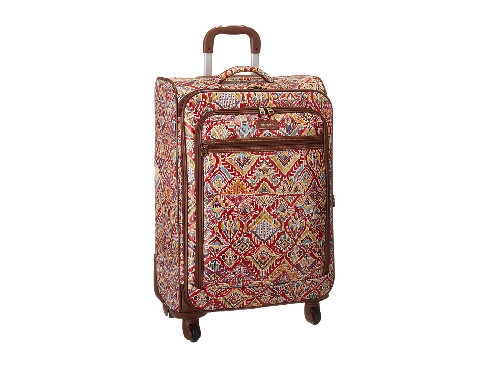 Sakroots - Artist Circle 26 Suitcase (Sweet Red Brave Beauti) Carry on Luggage